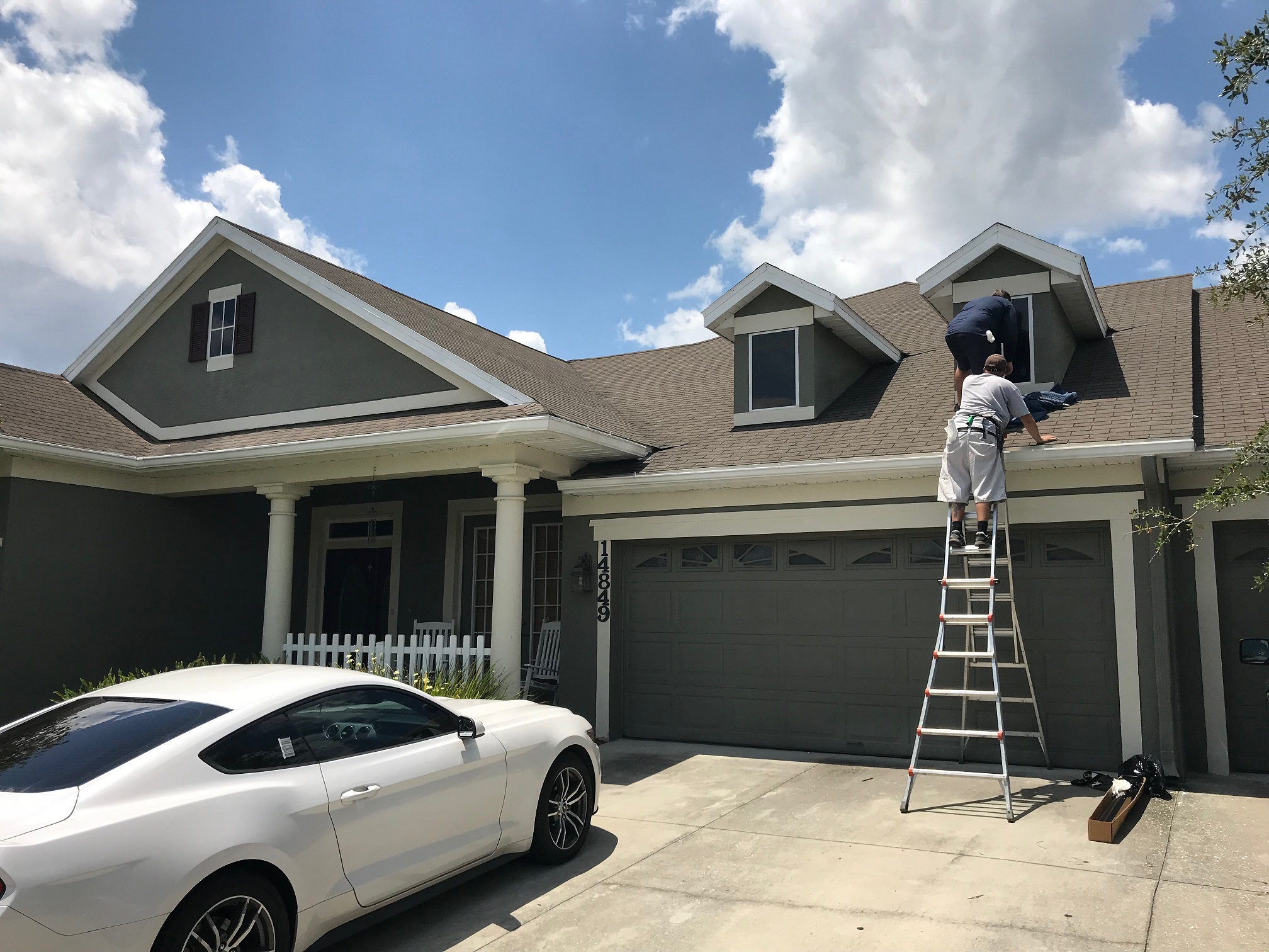 Residential window tint in Waterford Lake in Avalon Park